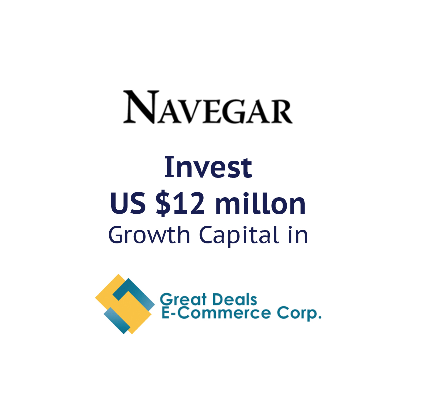 Rocket Equities Deal closing with Great Deals E-commerce Corp and the lead Investor Navegar